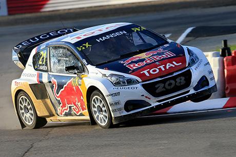 Team Peugeot Campionato FIA World Rallycross.
