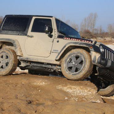 Jeep Wrangler Rubicon vero fuoristrada