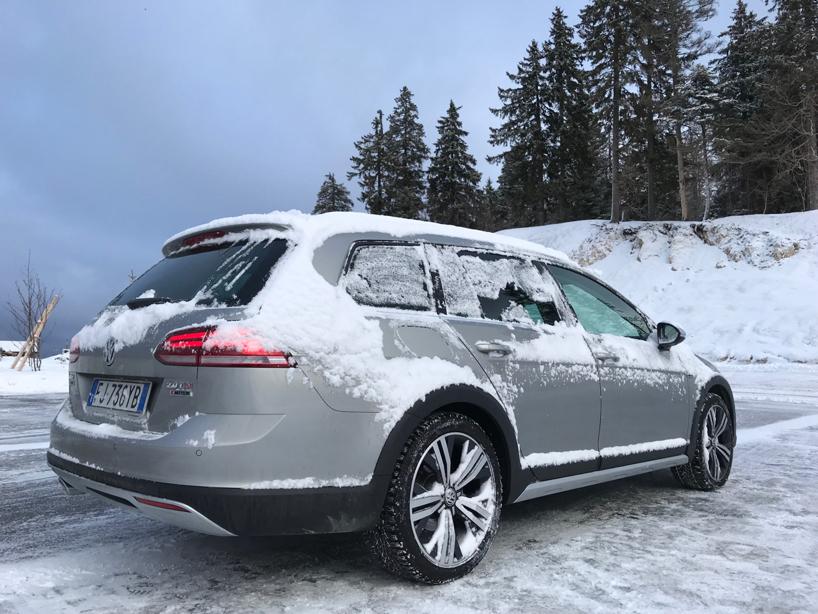 Volkswagen Golf Alltrack 4Motion prova su strada