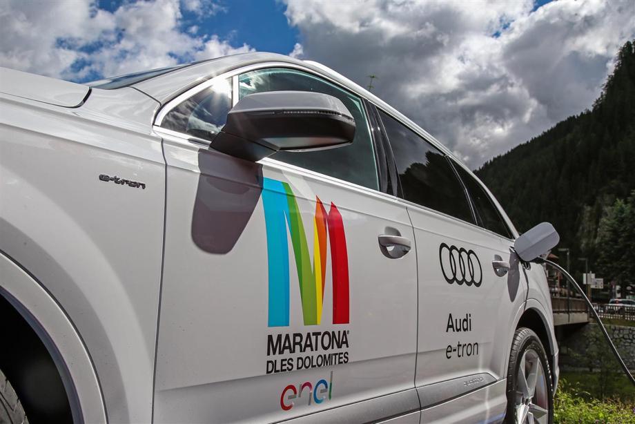 Audi alla Maratona dles Dolomites