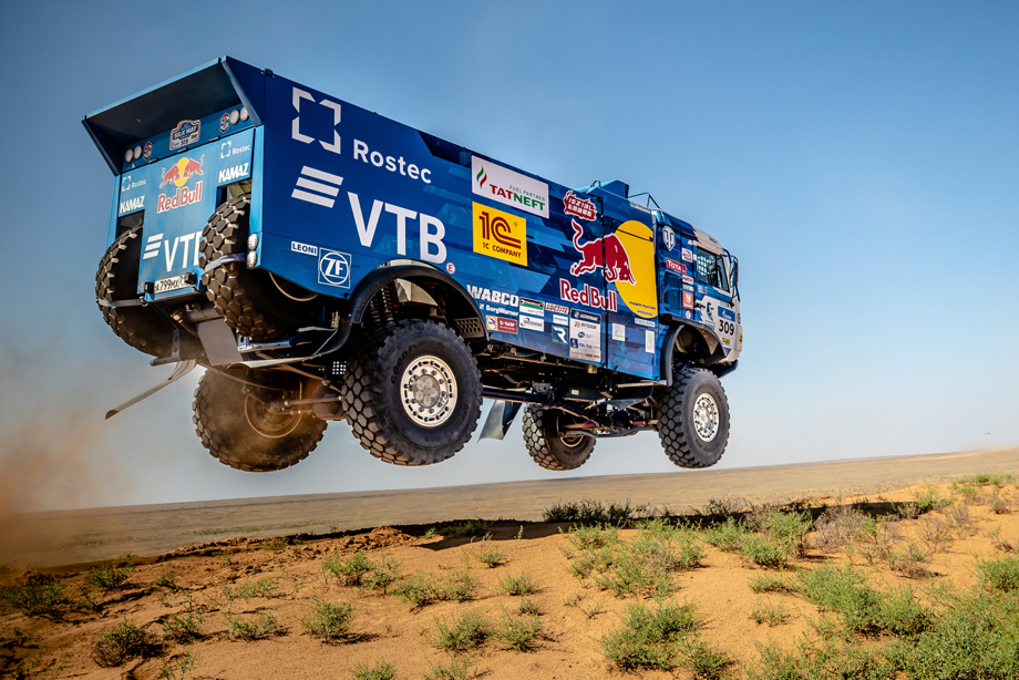 Silk Way Rally 2018 : il titolo è di Yaseed Al Rajhi