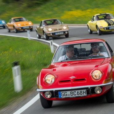 Il Grand Tour 2018: 50 anni di Opel GT