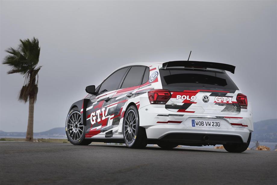 Petter Solberg al Rally di Spagna con Volkswagen