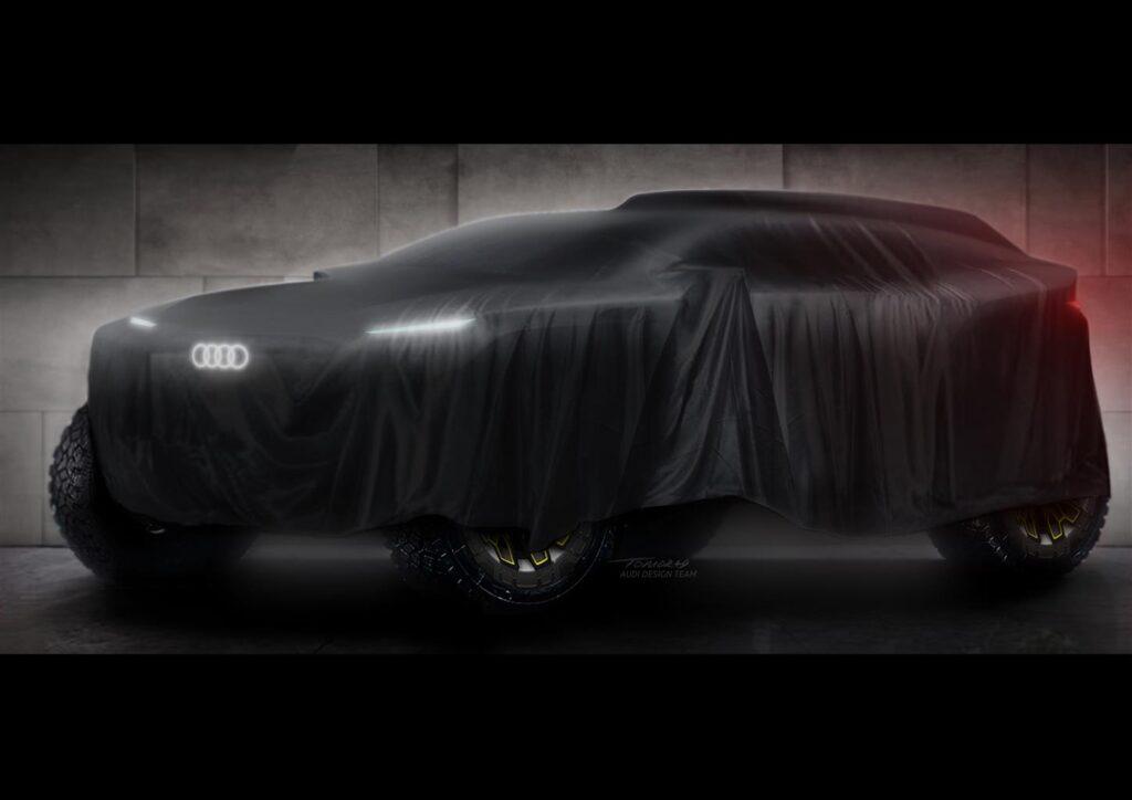 Audi alla Dakar 2022