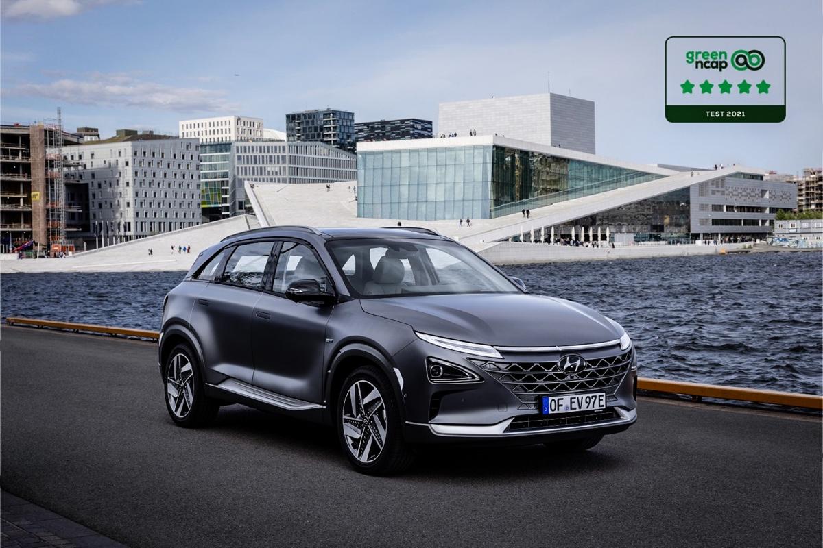 Hyundai NEXO 5 stelle NCAP